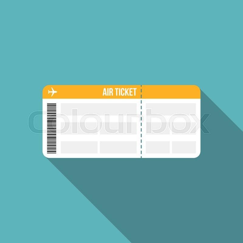 Boarding Pass Vector