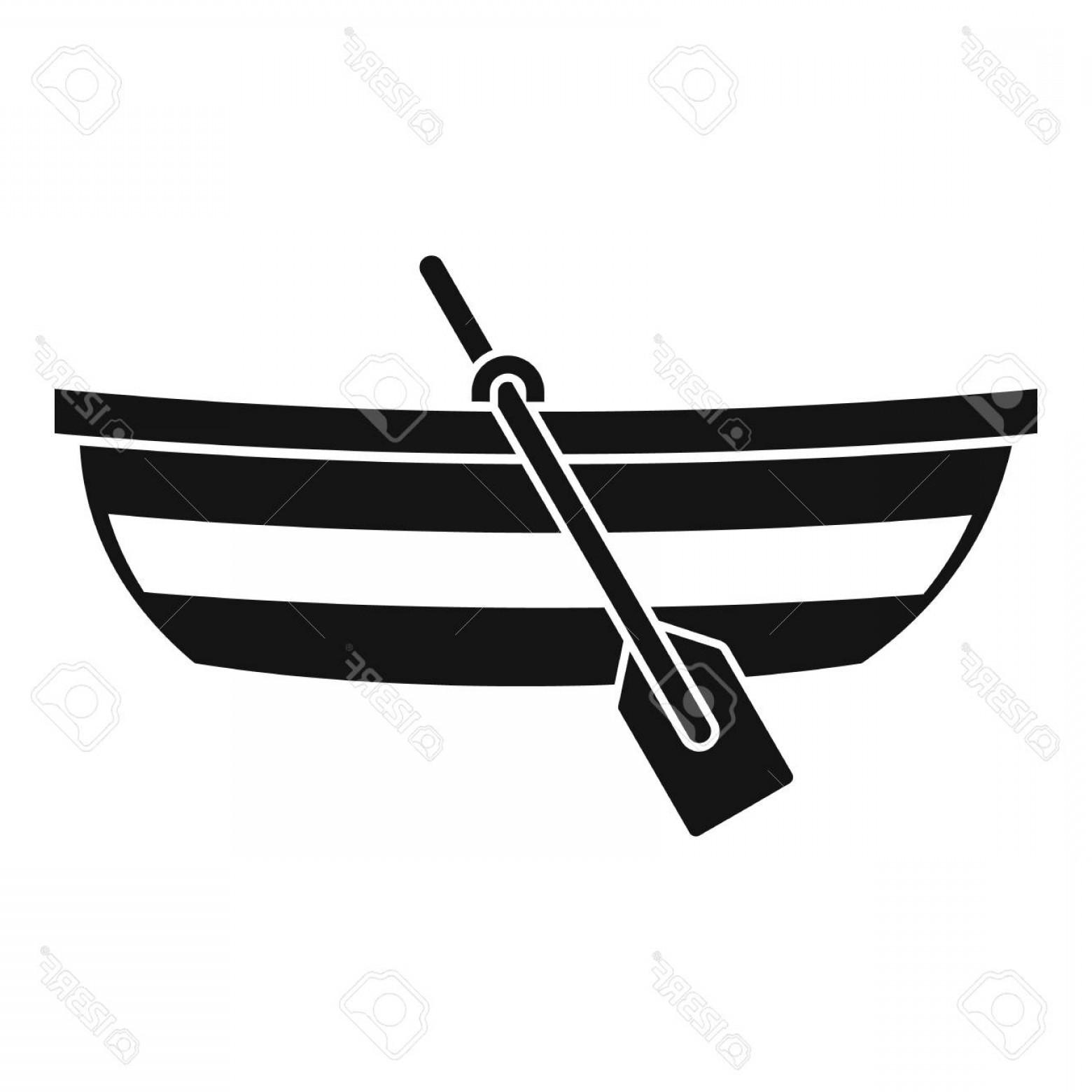 1560x1560 Photostock Vector Fishing Boat Icon Simple Illustration Of Fishing