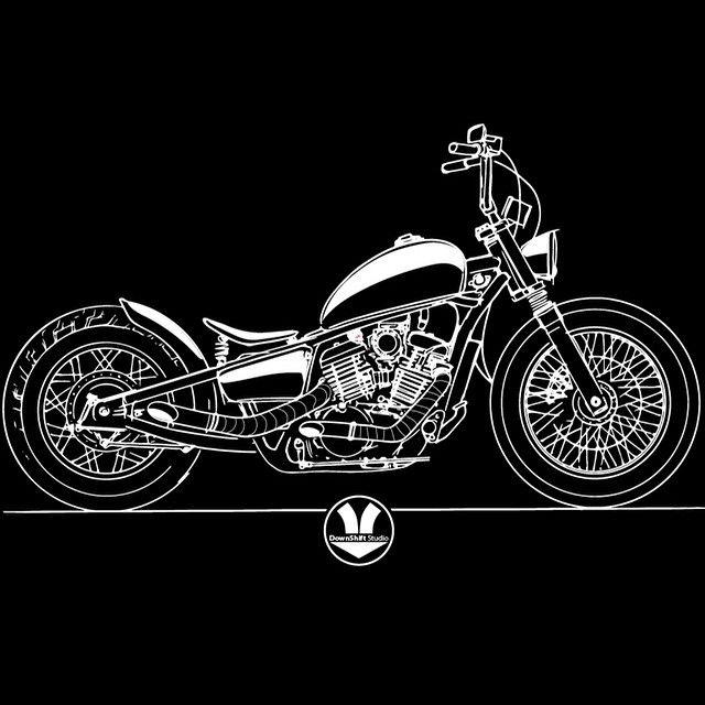 640x640 Downshift Studio Motorcycle Art Motorcycle Art