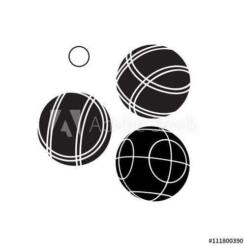 500x500 Bocce Balls Flat Icon