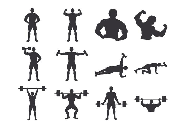 700x490 Male Body Free Vector Art