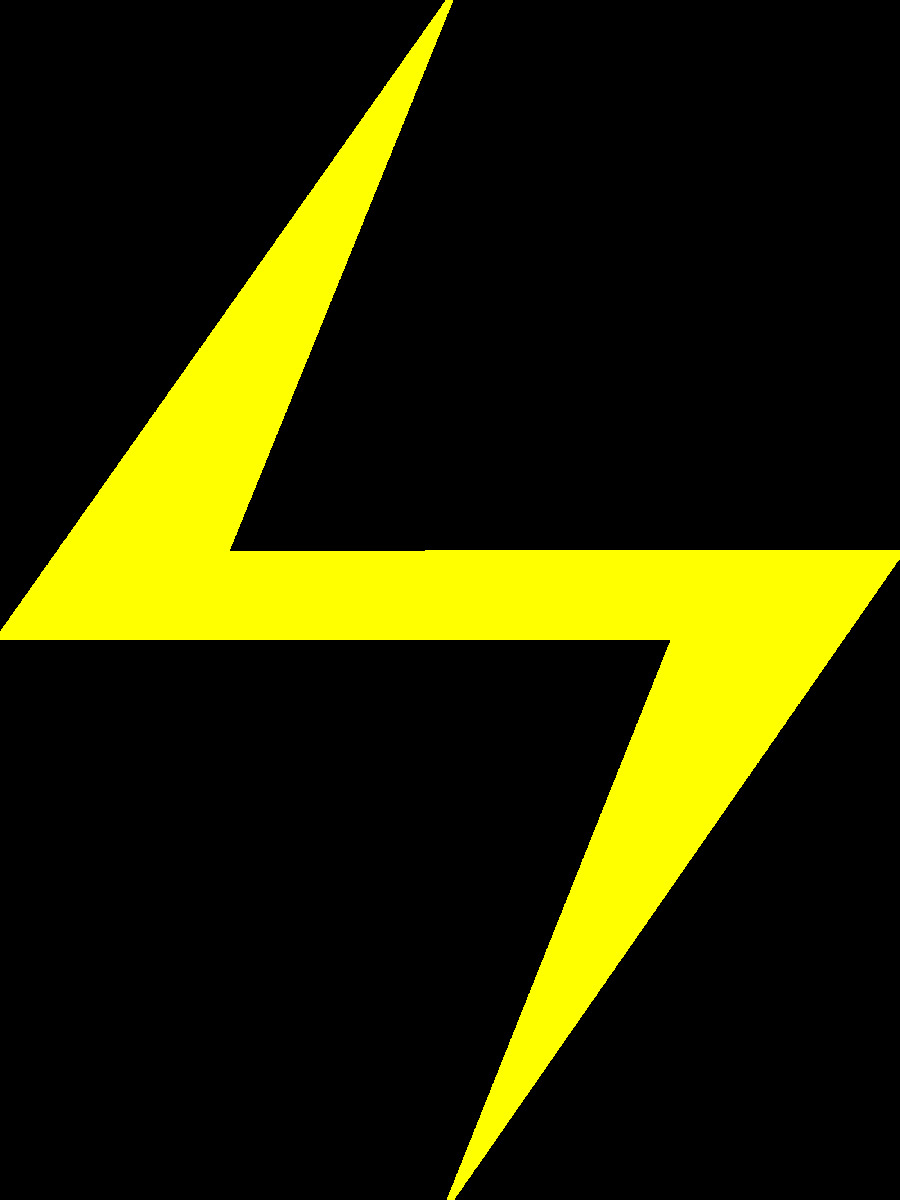 900x1200 Download Ms Marvel Lightning Bolt Vector Clipart Carol Danvers Ms