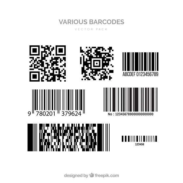 626x626 Barcode Vectors Vector Free Download