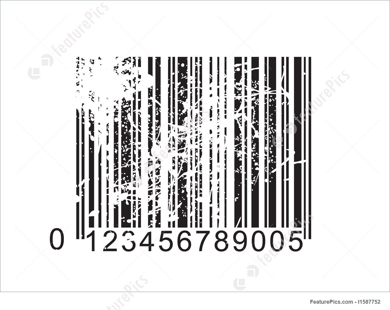 1300x1035 Finance And Currency Vector Barcode