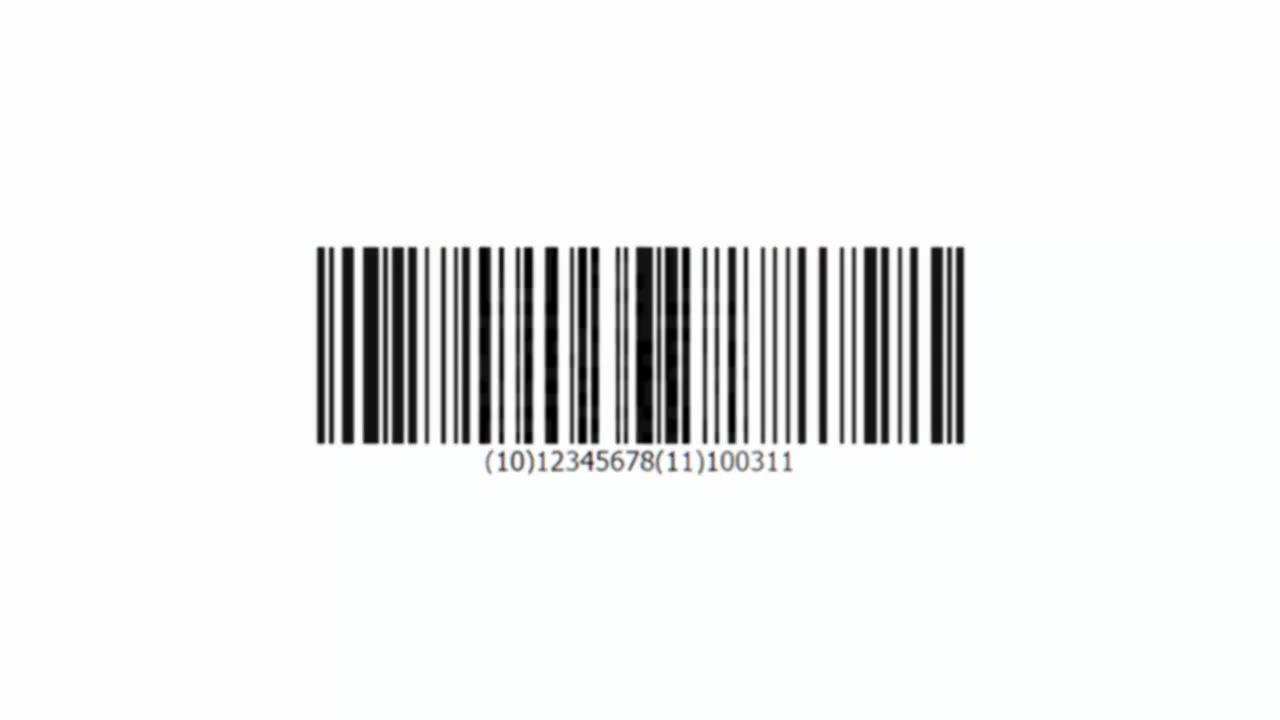 1280x720 Barcode Maker Software