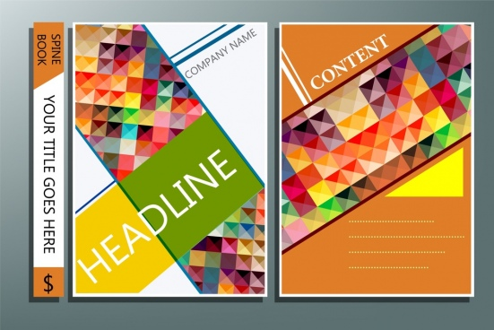 551x368 Book Cover Design Template Free Vector Download (18,504 Free