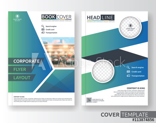 500x393 Multipurpose Business And Corporate Cover Design Layout. Suitable
