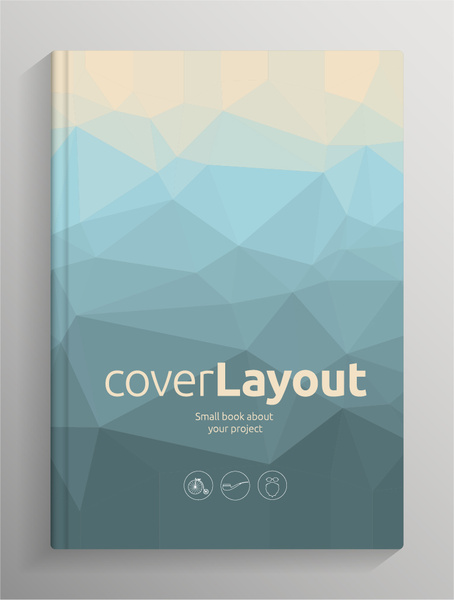 454x600 Brochure And Book Cover Creative Vector Free Vector In