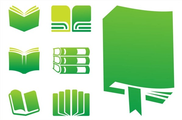 598x395 Books Icons Graphics Vector Ai, Pdf Format Free Vector Download