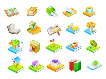 425x318 Book Series Seven Icon Vector Free Icon Packs Ui Download