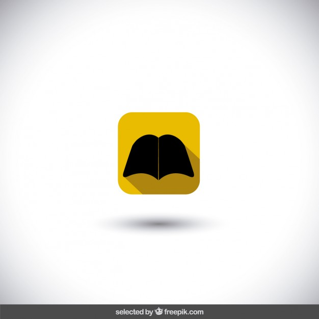 626x626 Isolated Book Icon Vector Free Download