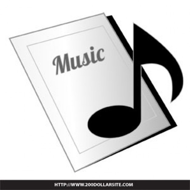 626x626 Music Book Icon Vector Vector Free Download