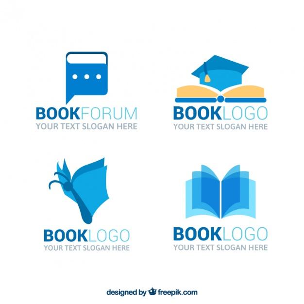 626x626 Great Book Logos Vector Free Download