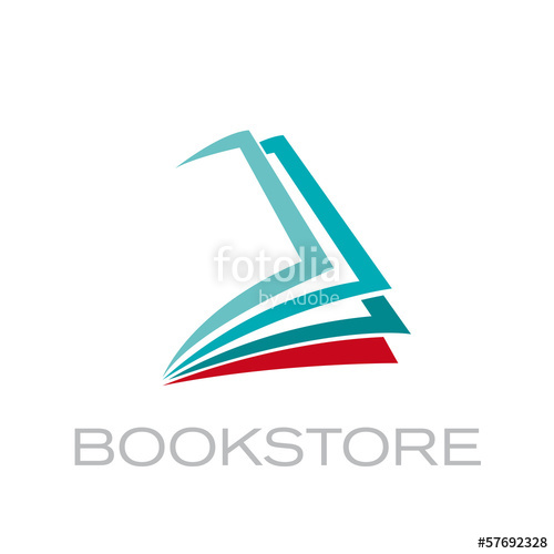 500x500 Vector Logo Book Stock Image And Royalty Free Vector Files On