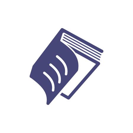 450x450 Book Logo Template For Free. Freebie Vector Logo Design!