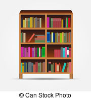 180x195 Book Spine Vector Icon.