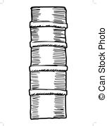 152x179 Collection Of Book Spine Clipart Black And White High