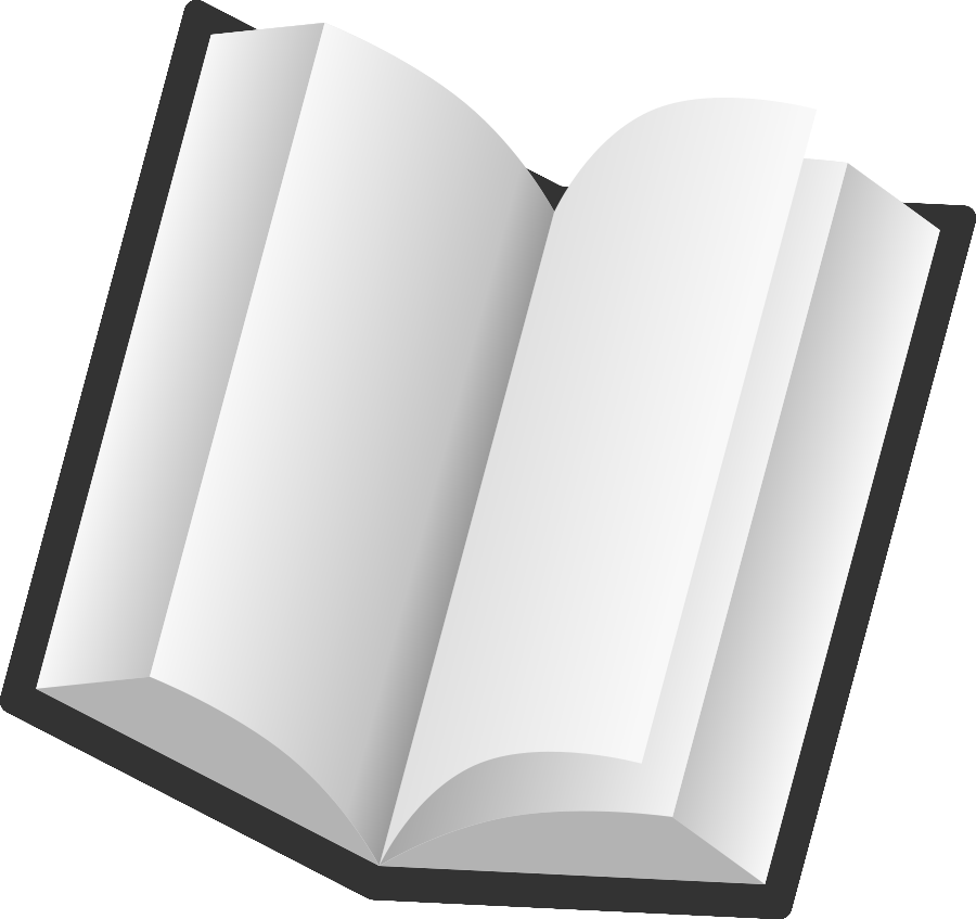 900x847 Graphic Black And White Book Vector