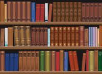 200x145 Free Download Of Bookshelf Vector Graphics And Illustrations