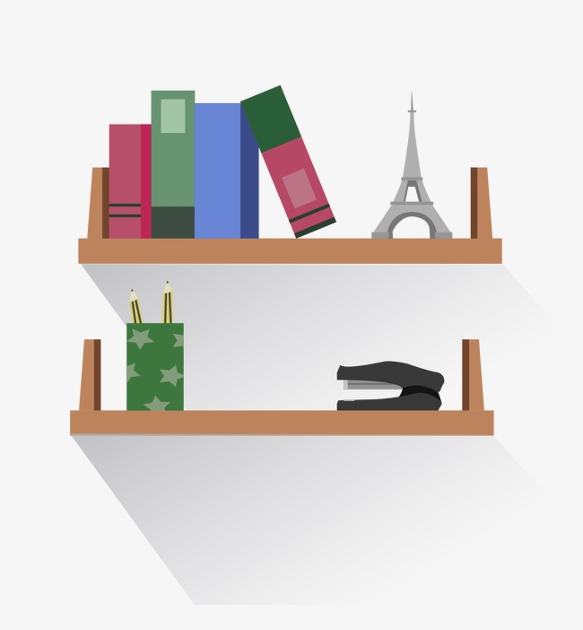 650x702 Vector Bookshelf, Vector, Bookshelf, Bookshelf Vector Png And