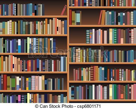 450x363 Vector Wooden Bookshelf .