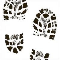 200x200 Footprint Clipart Boot Tracks