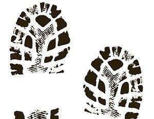 300x233 Free Boot Print Vector Art Free Vectors Ui Download