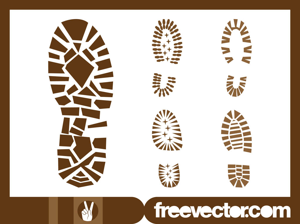 1024x765 Shoe Print Graphics Vector Art Amp Graphics