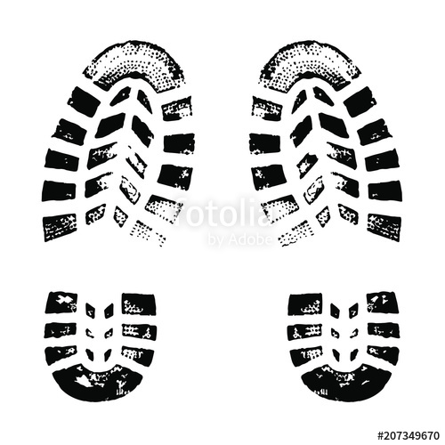500x500 Boot Print Stock Image And Royalty Free Vector Files On Fotolia