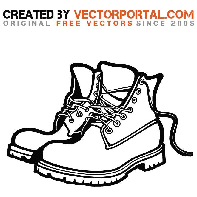 660x660 Boots Image Free Vector 123freevectors