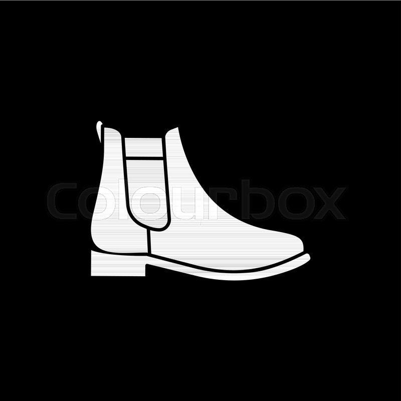 800x800 Hiking Army Military Boot Icon. Silhouette Hiking Army Military
