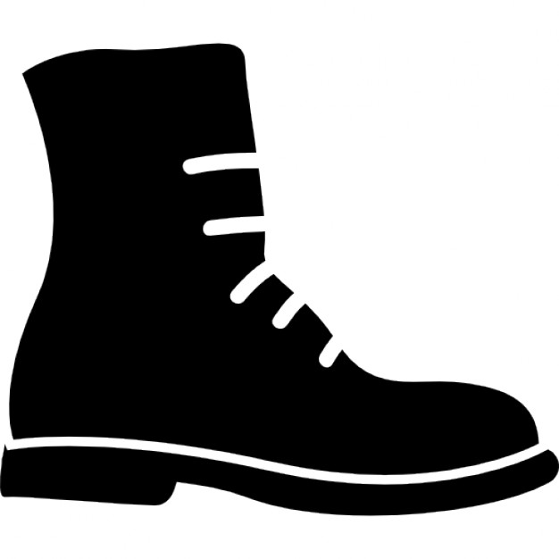 626x626 Military Boots With Lace For Female Icons Free Download