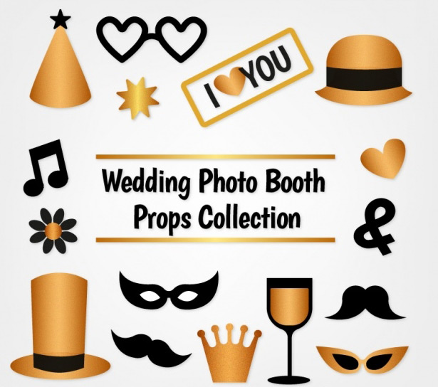 615x544 20 Free Printable Photo Booth Props Vectors