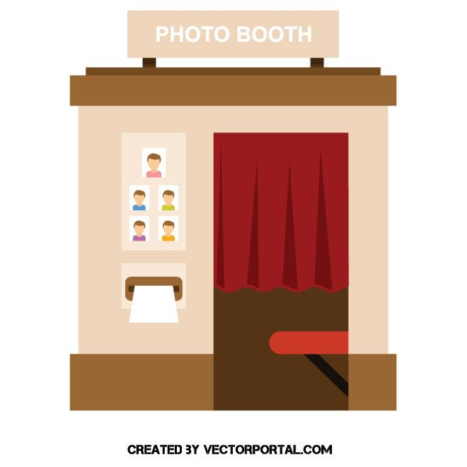 660x660 Photo Booth Vector Image