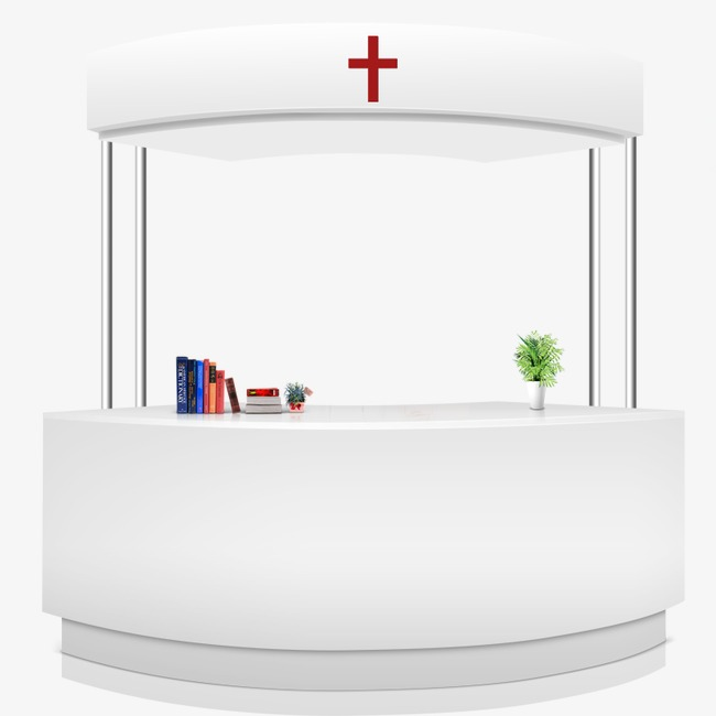650x650 Booth Hospital, Hospital, Reception, Booth Vector Png And Psd File