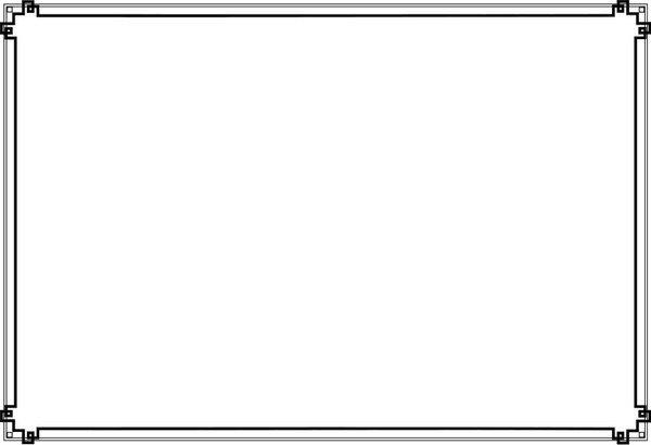 600x410 Certificate Border Vector