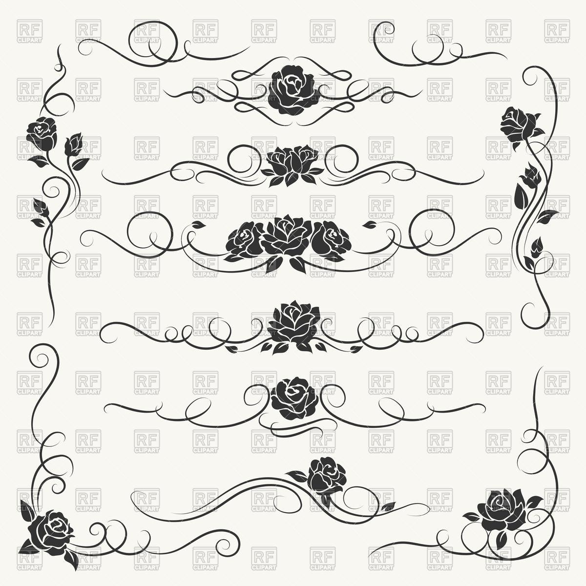 1200x1200 Flourish Roses Divider