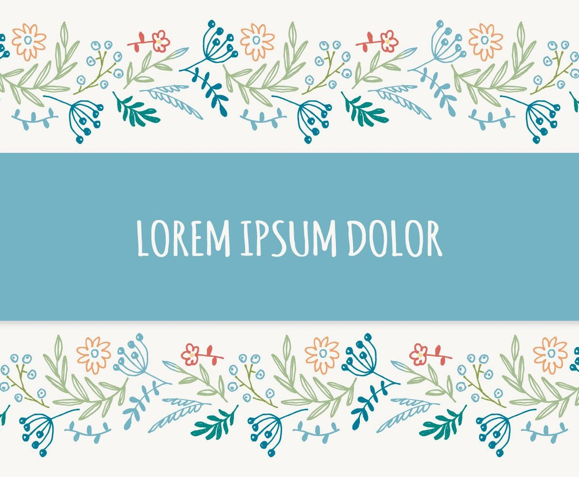 1136x936 Beautiful Floral Border Vector Background Vector Art Amp Graphics