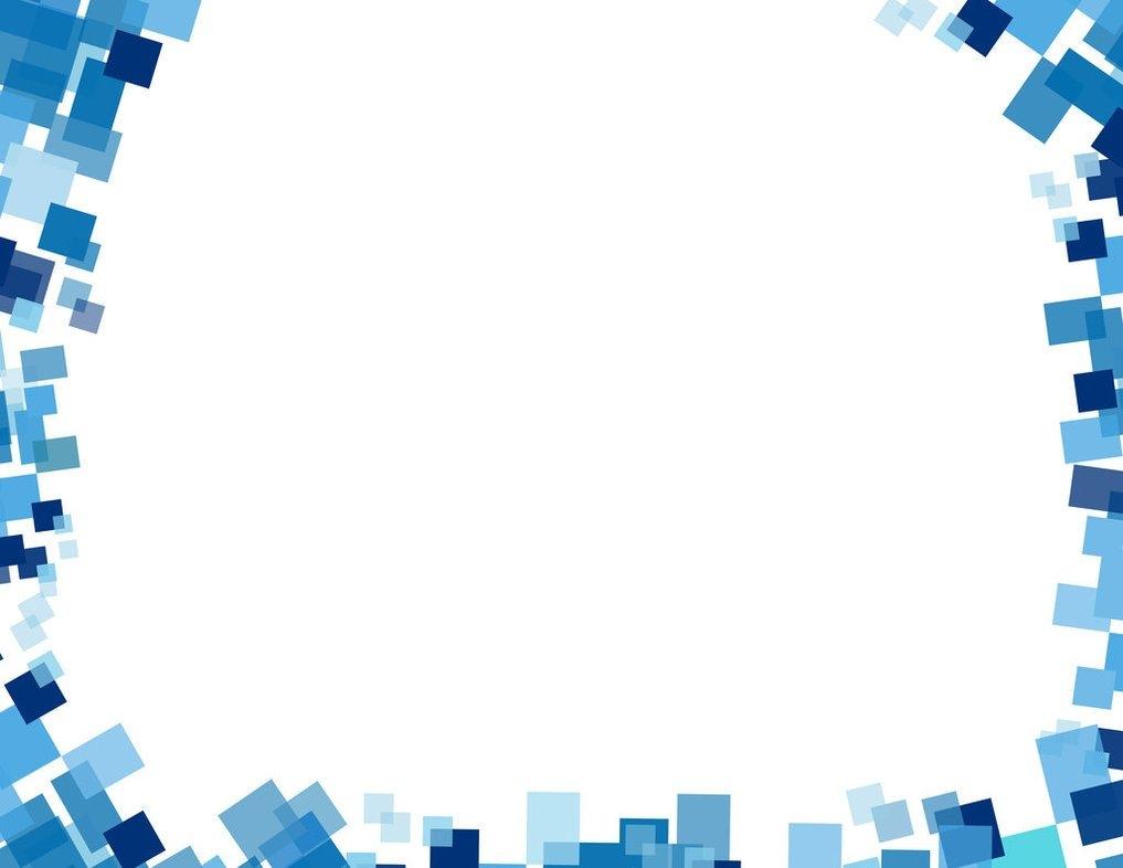1017x786 Blue Certificate Border Vector