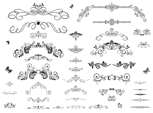 500x369 Decor Ornaments And Border Vector Free Free Download