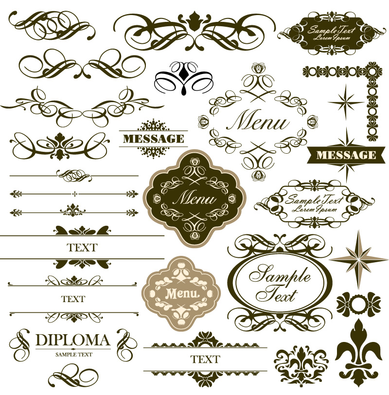 800x812 Floral Borders Free Download