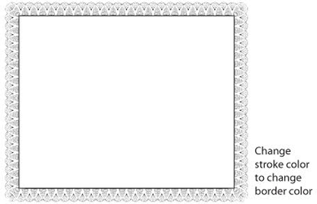 456x294 Certificate Border Vector Free Vector In Adobe Illustrator Ai