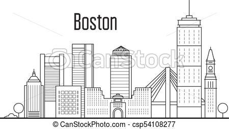 450x254 Boston City Skyline