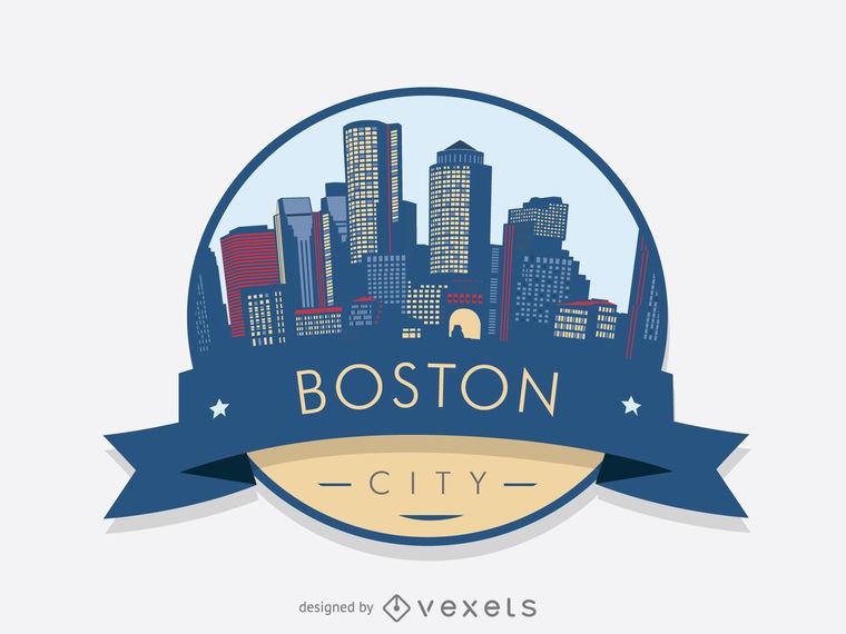 760x570 Boston Skyline Badge