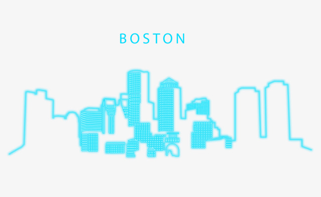 650x400 Sky Blue Boston, Blue Vector, Boston, Vector Png And Vector For