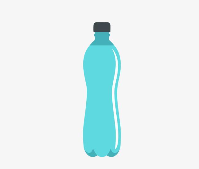 650x551 Azul Agua Mineral Botella De Material Botella Contenedor Bebidas