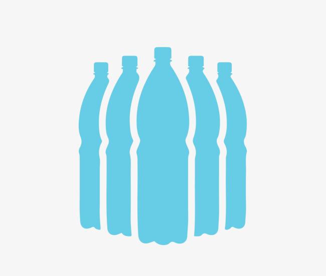 650x551 Vector De Botellas De Agua Mineral Bebidas Botella De
