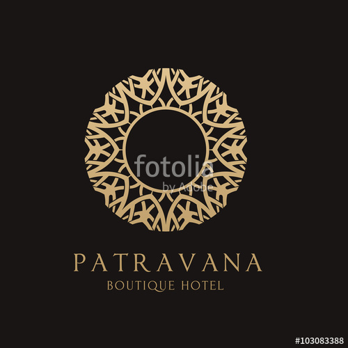 500x500 Luxury Boutique Logo Brand Identity For Hotel And Real Estate