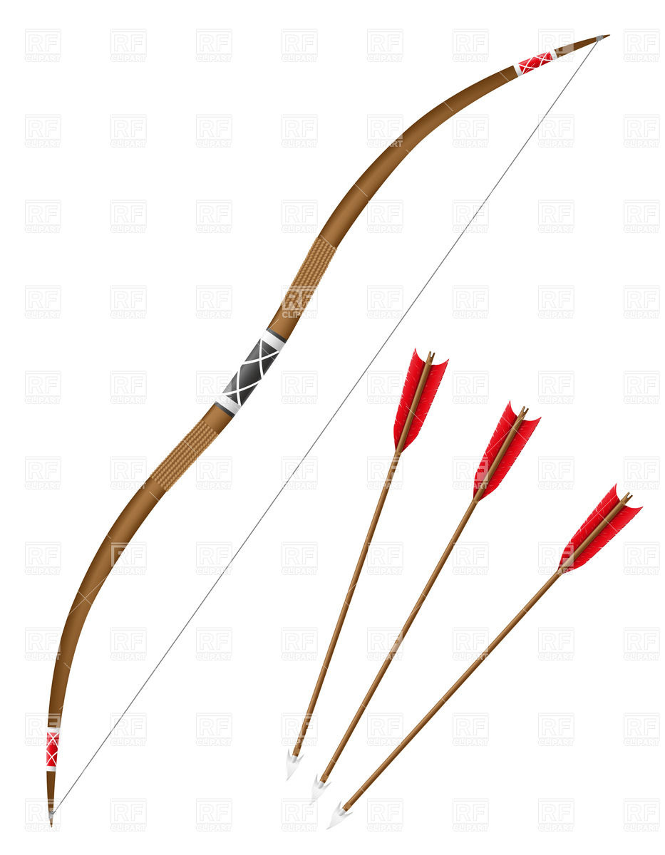 933x1200 Bow And Arrows Vector Image Vector Artwork Of Objects