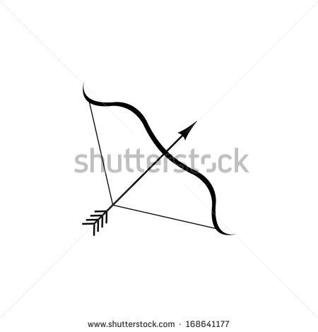 450x470 Bow And Arrow